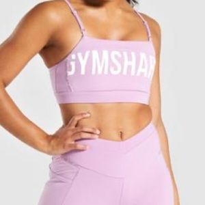 pink gymshark recess sports bra